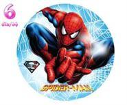 Đĩa Giấy Sinh Nhật Spiderman