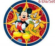 Đĩa giấy sinh nhật chủ đề Mickey