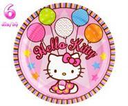 Đĩa giấy sinh nhật Chủ Đề Kitty
