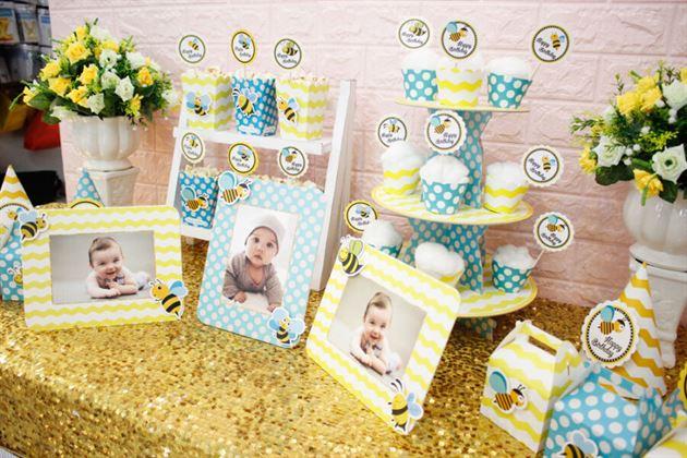 Đồ trang trí sinh nhật cho bé ong