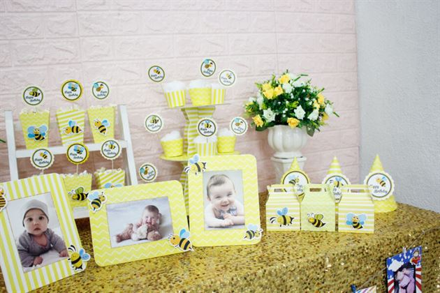 Full set trang trí bàn tiệc sinh nhật