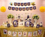 Full set con ong màu xanh hoàng gia