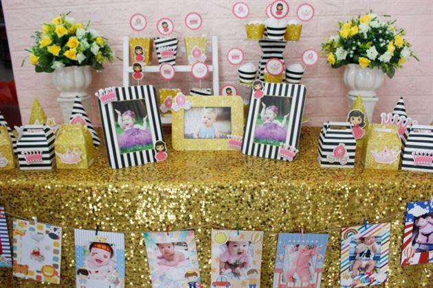 Full Set trang trí sinh nhật cho bé