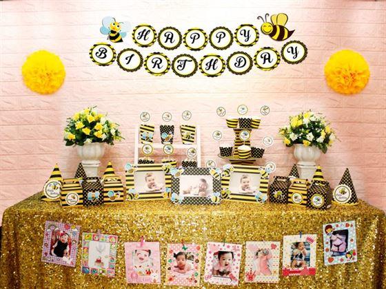 Full set bé ong màu vàng đen