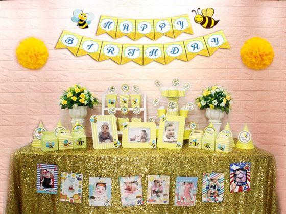 Full set bé ong màu vàng hoàng gia