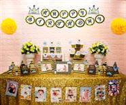 Full set hoàng tử màu vàng đen