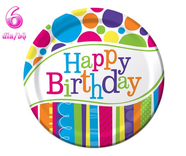 Đĩa sinh nhật HPBD