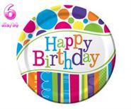 Đĩa giấy sinh nhật chủ đề Happy Birthday