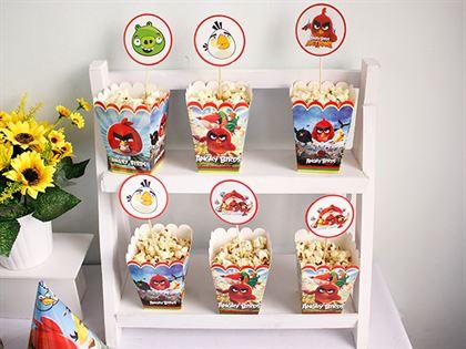 hộp đựng bắp rang bơ Angry Birds