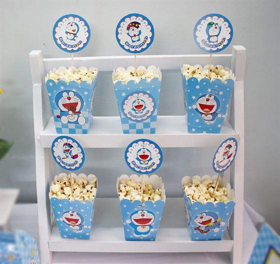 Hộp đựng bắp rang bơ Doraemon