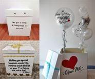 Surprise Box hộp quà bong bóng Jumbo Đứng