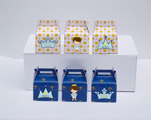 Tem hộp quà sinh nhật Hoàng Tử