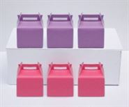 Hộp quà sinh nhật màu hồng tím