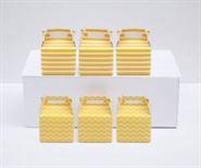 Hộp quà sinh nhật màu vàng hoàng gia