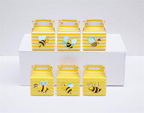 Hộp quà sinh nhật Bé Ong màu vàng hoàng gia