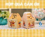 hộp quà sinh nhật gấu Pooh