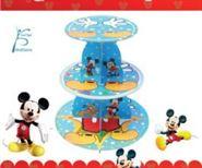 Kệ bánh sinh nhật chuột Mickey