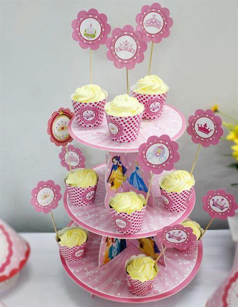 kệ bánh kem sinh nhật công chúa