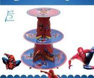 Kệ Bánh Kem Sinh Nhật người nhện (Spiderman)