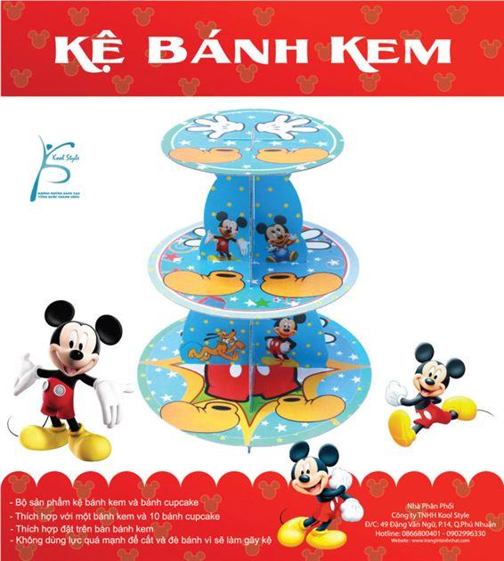 Kệ bánh sinh nhật chủ đề chuột Mickey