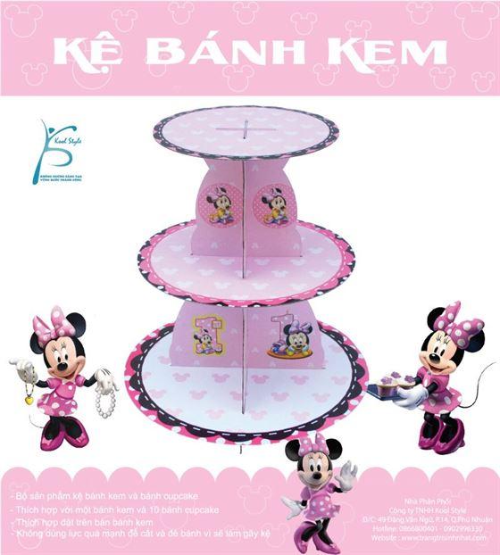 Kệ Bánh Kem Sinh Nhật Minnie