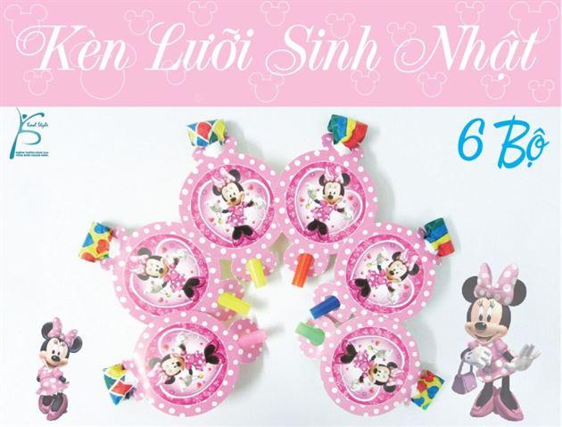 Kèn Lưỡi Sinh Nhật Minnie