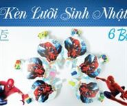 Kèn Lưỡi Sinh Nhật Spiderman