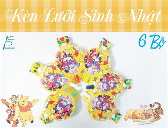 Kèn lưỡi sinh nhật chủ đề gấu Pooh
