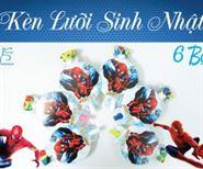 Kèn Lưỡi Sinh Nhật Chủ Đề Spiderman
