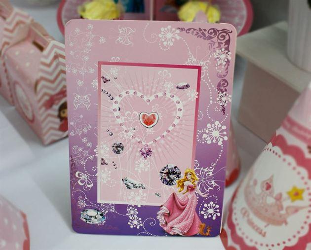 khung ảnh sinh nhật công chúa