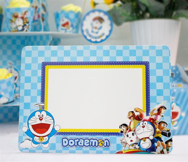 Khung hình sinh nhật Doraemon