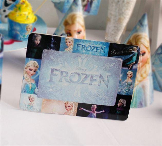 Khung hình sinh nhật Frozen