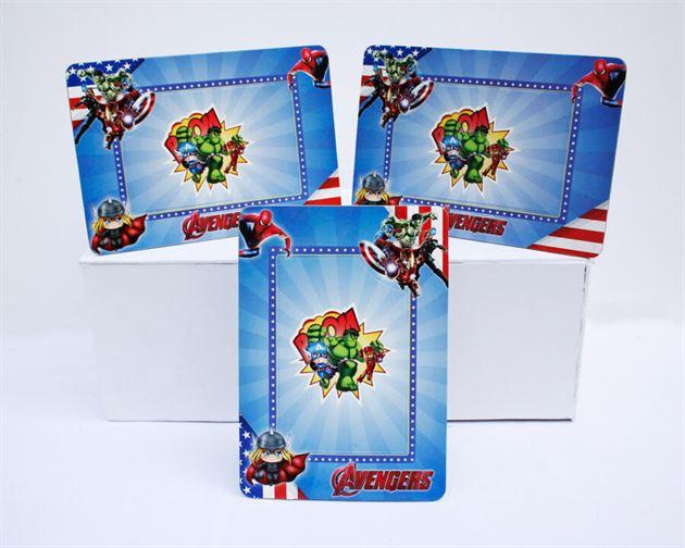 Khung hình sinh nhật Avengers