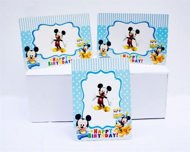 Khung hình sinh nhật Mickey