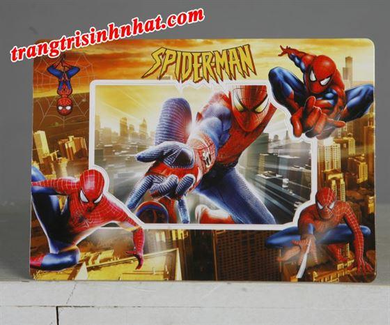 Khung hình trang trí đặt bàn Spiderman ( Người Nhện )