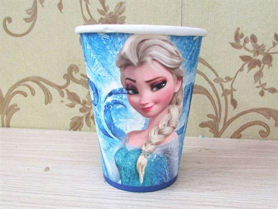 Ly giấy sinh nhật Frozen