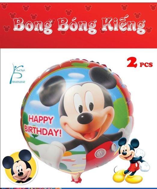 Bong Bóng Kiếng Sinh Nhật Mickey