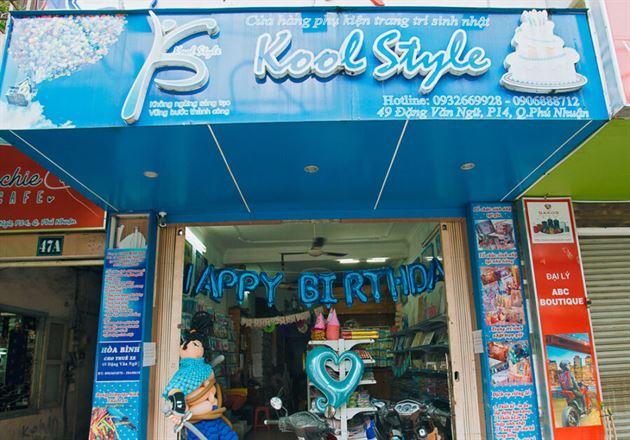 Mua đồ trang trí sinh nhật tại tphcm