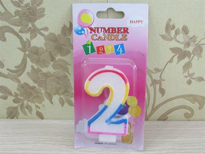 Nến trang trí sinh nhật số 2