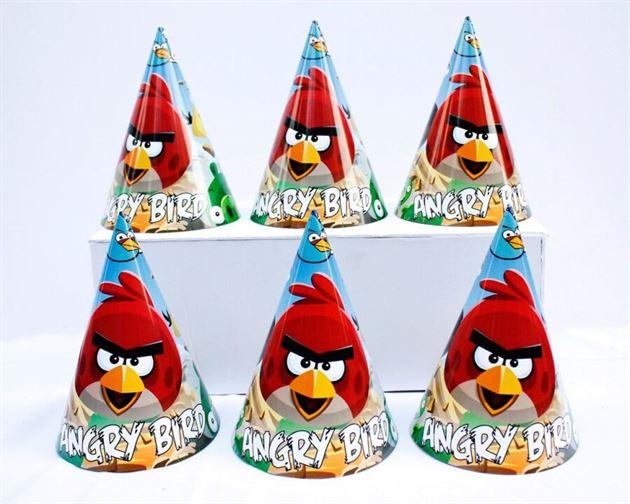 Nón sinh nhật Angry Birds