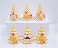 Tem nón sinh nhật bé trai tuổi gà