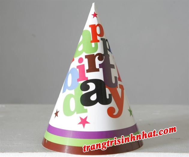 Nón Sinh Nhật Happy Birthday