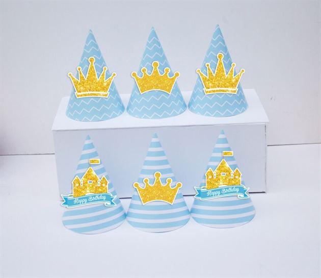 Tem nón sinh nhật Vương Miện Bé Trai