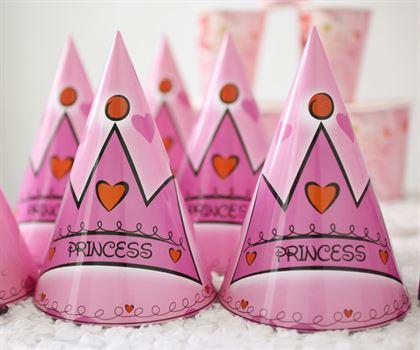 Nón sinh nhật chủ đề công chúa