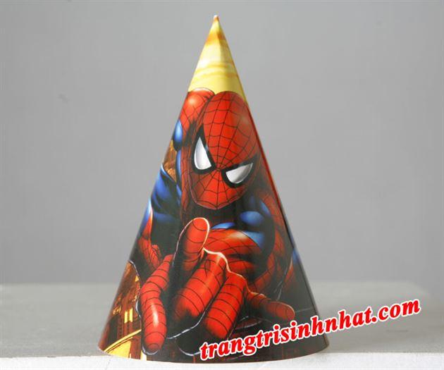 Nón sinh nhật Spiderman