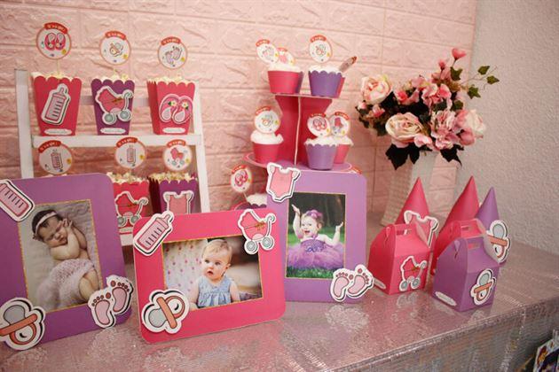 Phụ kiện sinh nhật chủ đề Baby Girl