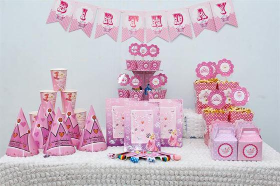 phụ kiệng trang trí sinh nhật bé gái 1 tuổi