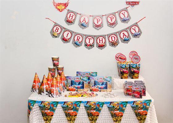 phụ kiện trang trí sinh nhật bé trai 1 tuổi