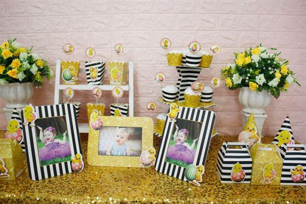 Phụ kiện trang trí sinh nhật bé gái