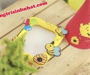Nón Sinh Nhật Vải Nỉ gấu Pooh